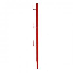 Poteau supérieur Planche peint width=