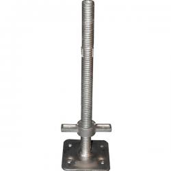 Socle réglable à vis 0,80 mètre pour échafaudage width=