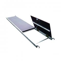 Plancher d'accès à trappe alu/bois width=