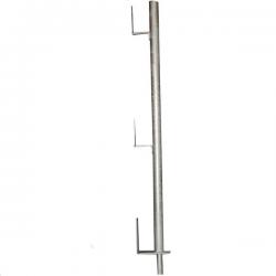 Garde-corps de protection à planche galvanisé