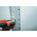 Règle à découper la plaque de plâtre - Edma