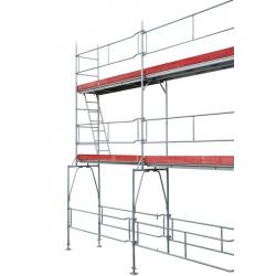 Échafaudage de façade 84,5 m2 width=
