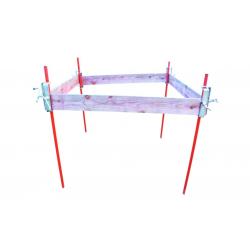 Piquet d'implantation tube plein - sans coulisseau width=