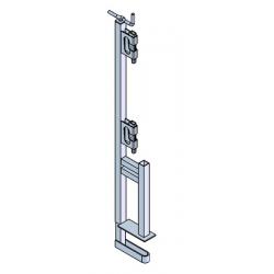 Garde-corps pince 1 position bloqueur galvanisé width=