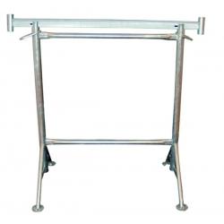 Tréteau Diam 49 mm - Pieds fixes galvanisé width=
