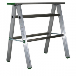 Tréteau Aluminium Repliable width=