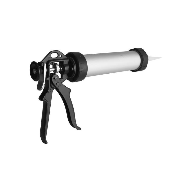 pistolet cartouche aluminium 320 ml tout le bricolage. Black Bedroom Furniture Sets. Home Design Ideas