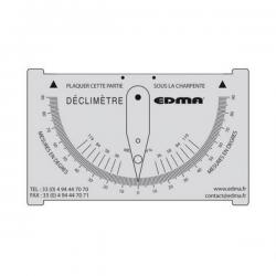 Déclimètre de charpentier - Edma width=