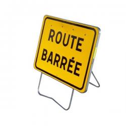 Panneau de signalisation KC1 - Route barrée width=