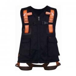 Gilet + Harnais de sécurité noir - Delta Plus width=