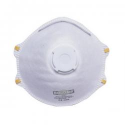 Boite de 10 masques anti-poussière FFP1 avec valve width=