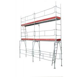 Échafaudage de façade 59,50 m2