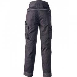 dos pantalon de travail