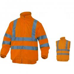 blouson haute visibilité orange