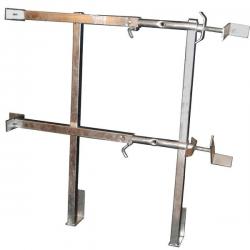 barriere de sécurite appuis équerre galva