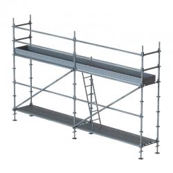 Lot échafaudage multidirectionnel 28 m2