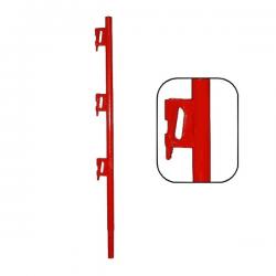 Poteau supérieur Bloqueur tube peint width=