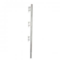 Poteau supérieur Bloqueur tube galvanisé width=