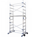 Échafaudage roulant modulable aluminium - MODALU