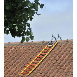 Echelle de toit bois...