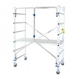 Échafaudage pliable aluminium width=