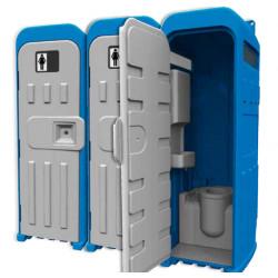 Toilette mobile connexion...