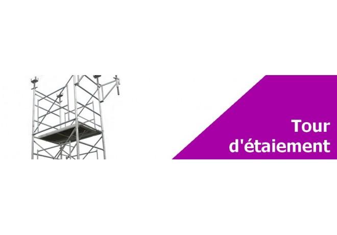 Tour d'étaiement - Lot complet ou pièces détachées pour vos chantiers