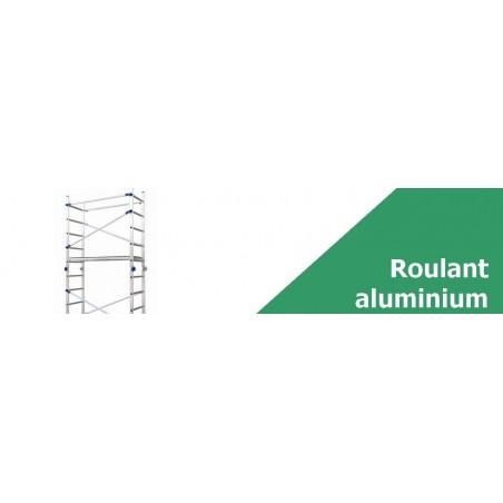 Échafaudage roulant aluminium - Achetez votre échafaudage en ligne