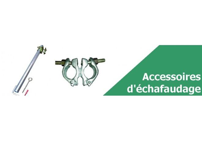 Accessoires pour échafaudage - Vente de matériel BTP en ligne