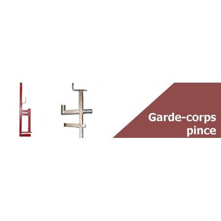Garde corps de protection à pince - Large stock disponible