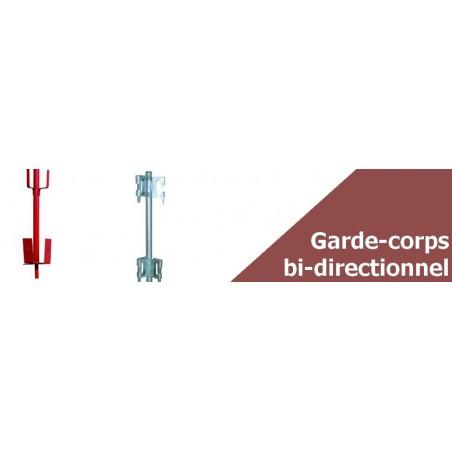 Garde-corps d'angle pour réservation - Sécurité du chantier