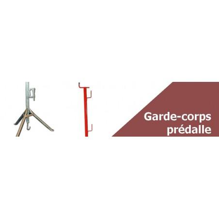 Garde-corps pour prédalle - Vente en ligne de matériel BTP