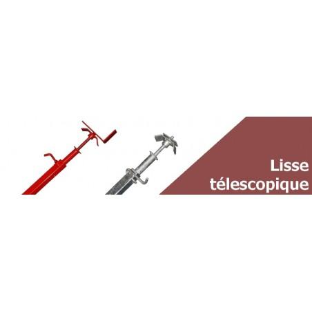 Lisse de sécurité télescopique pour sécuriser vos ouvertures