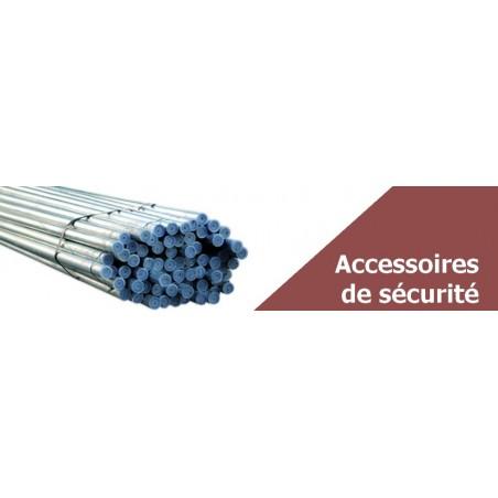 Accessoires de sécurité - Tube acier, filet de sécurité,…
