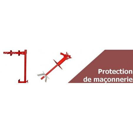 Protection de maçonnerie grimpante - Sécurité sur Chantier