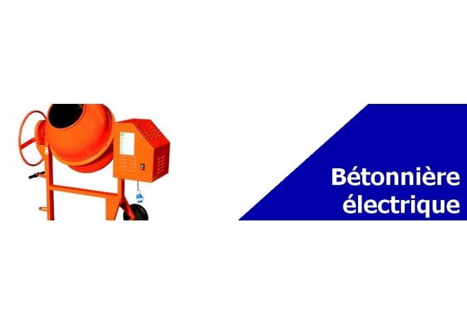 Bétonnière électrique