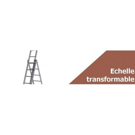 Échelle transformable 2 plans et 3 plans