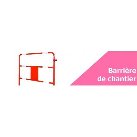 Barrière de chantier - Achetez votre matériel BTP en ligne