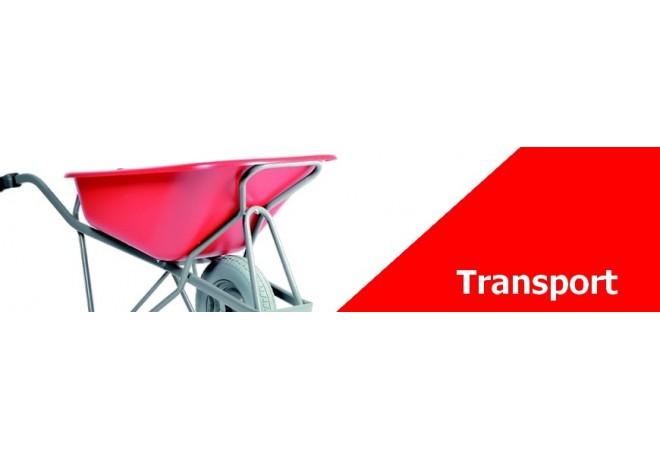 Transport sur votre chantier - Brouette, transpalette, lève palette...