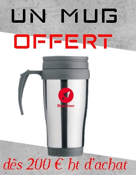 Direct Mat - mug offert dès 200 € HT
